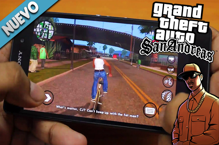 Photo of Grand Theft Auto: San Andreas Para Android Gratis
