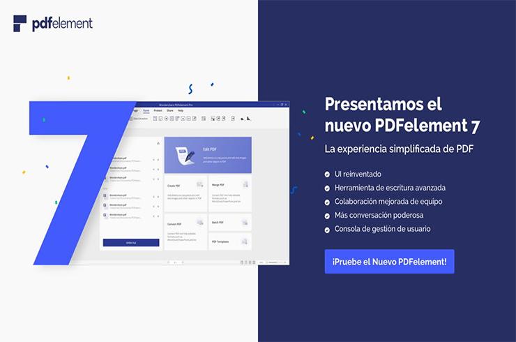Photo of PDFelement 7 | La solución PDF más Potente Sencilla e Inteligente