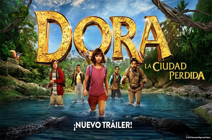 Photo of Dora y La Ciudad Perdida (2019) HD Español Latino
